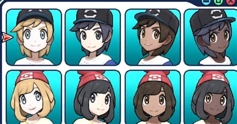 You Can Choose A Black Pokemon Trainer In Pokémon Sun And