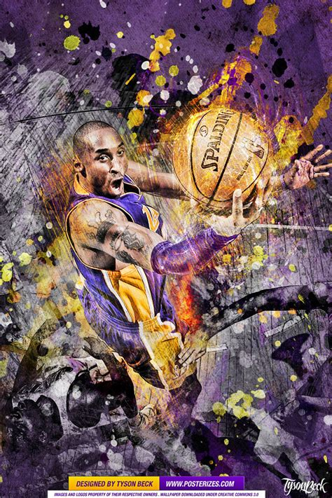 kobe bryant sensation wallpaper posterizes nba