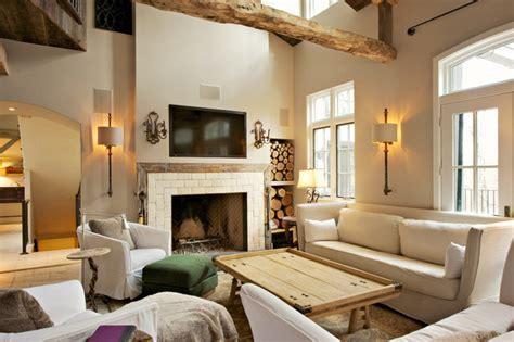 Shaggy Bark Farm Automation   Farmhouse   Living Room