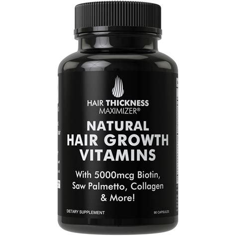 Amazon.com: Biotin Pills for Men + Women Hair Growth
