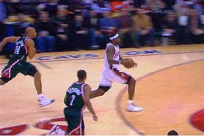 Lebron James Dunk Throw Line Player Basketball