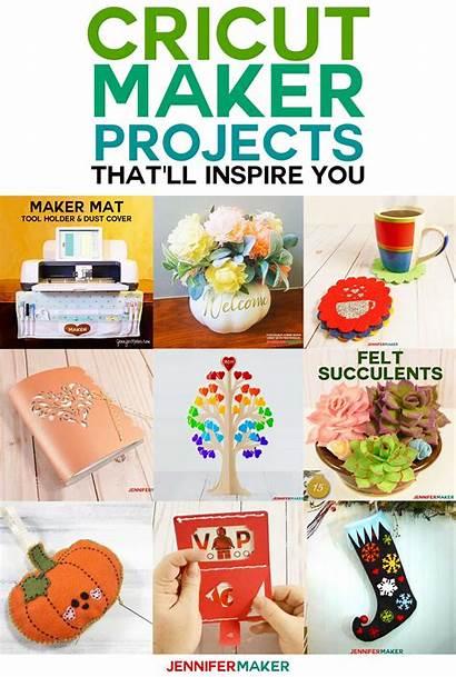 Cricut Maker Projects Diy Jennifer Machine Gifts