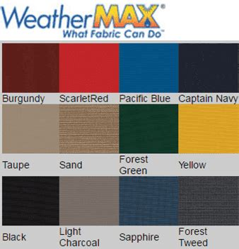 Shoretex Boat Cover by Shoretex Boat Covers Fabric Choices Boat Direct
