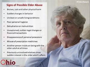 Elder Abuse Rate Of Violence Against Them Increasing  Says Cdc