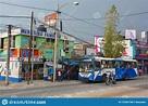Street Scene Of Guatemala City, Guatemala Editorial Stock ...