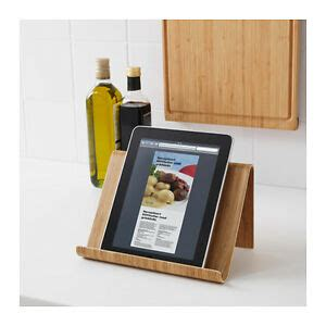 ikea rimforsa bamboo tablet ipad cookbook cook book stand