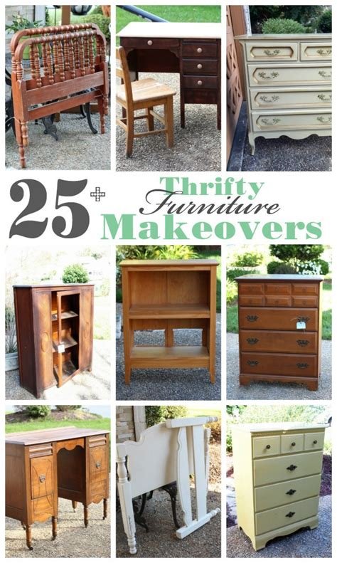 furniture makeovers 25 thrifty furniture makeovers Diy