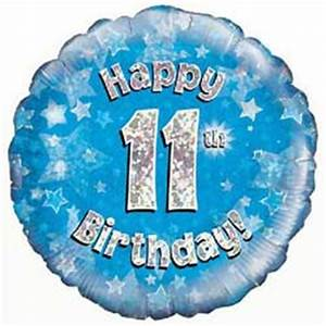Birthday Balloons 11-21 Years Old - £9.95 FREE UK Delivery