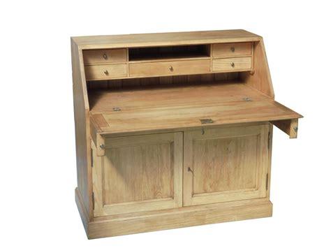rangement haut cuisine secretaire bois massif