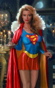 Supergirl Body Paint