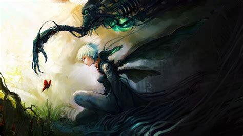 Digital Painting Wallpaper by Asuka111 Deviantart Com Paintings Airbrushing Anime