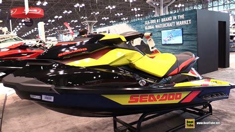 New York Boat Show Review by 2015 Sea Doo Gtr 215 Jet Ski Walkaround 2015 New York
