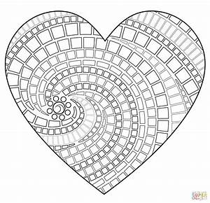 free mosaic patterns to print click the heart mosaic With designs for mosaics templates