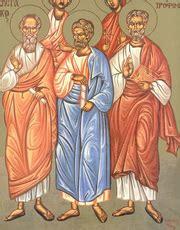 sfintii apostoli aristarh pud trofim