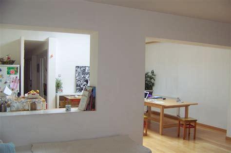 habillage meuble cuisine separation de cuisine sejour 4 positionnement couleurs