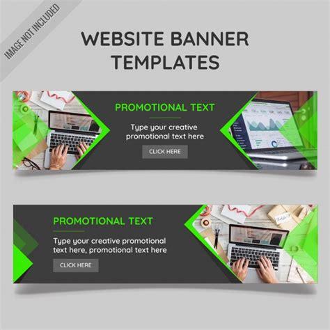 banner news template website banner templates vector free download