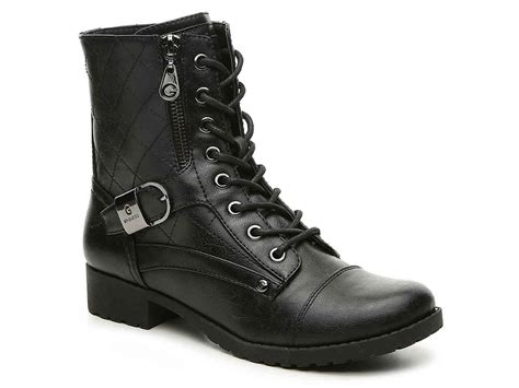 G By Guess Brittain Combat Boot Women's Shoes