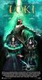 Loki spoof poster * * * Loki background from http ...