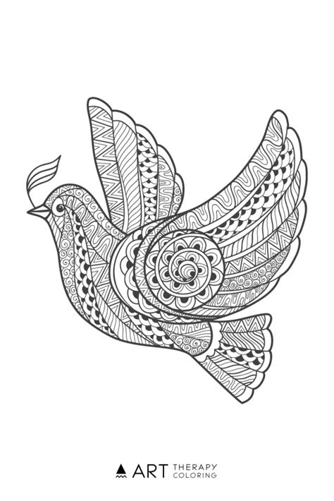 bird coloring page  adults coloring birds