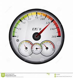 Speedometer Stock Illustration - Image: 48188329