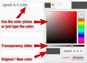 spectrum color picker how to use child theme configurator