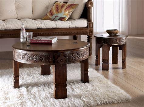 table basse marocaine bois table de salon l accessoire fonctionnel et moderne d 233 co salon marocain