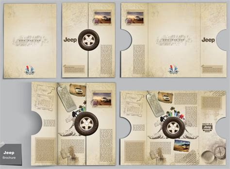 creative brochure design 20 simple yet beautiful brochure design inspiration