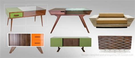 atomic living design mid century modernist furniture