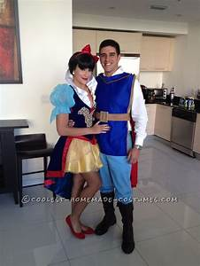 Prince Charming 100% Homemade Costume and Snow White ...