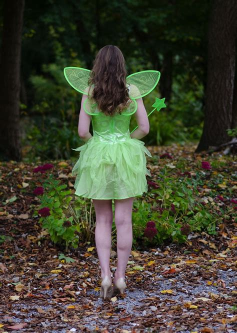 Sexy Adult Tinkerbell Costume Raindrops Of Sapphire
