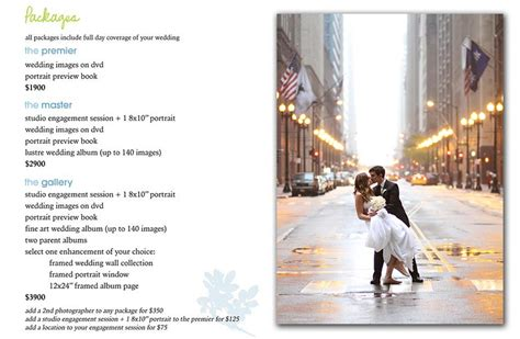 wedding photographer cost wedding photography price list images