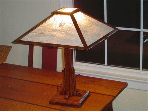 arts crafts lamp  shade  nils  lumberjockscom
