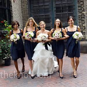 navy blue bridesmaid your navy blue bridesmaid dresses and or bouquets weddingbee