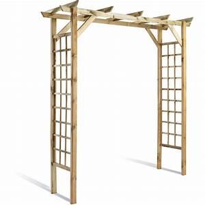 Arche Metal Pour Plante Grimpante : arche pour plantes grimpantes leroy merlin ~ Premium-room.com Idées de Décoration