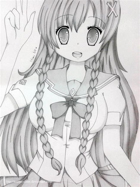Anime Sketch Wallpaper - anime pencil drawings anime pencil drawing wallpaper