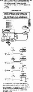 1990 Pontiac 6000 Wiper Motor Not Running  How Do I Test