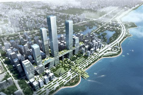 UNIT creates sky street for shenzen bay super city competition