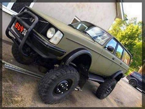 big volvo wd  road lift kit monster volvo  suv