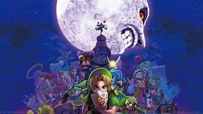 Mask Zelda Legend Majora Majoras Wallpapers