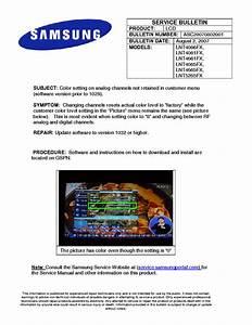 Samsung Pn50c450b1dxza Fasttrack Troubleshooting Guide