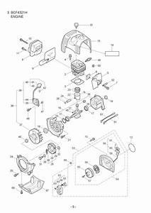 Maruyama Parts Bcf4321h Engine