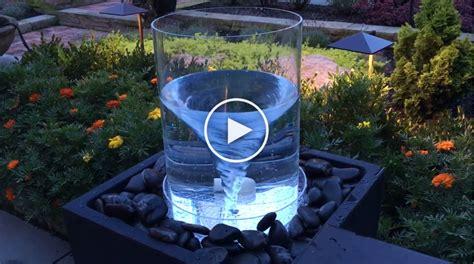 diy vortex water feature