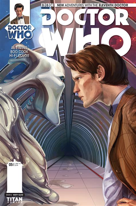 doctor 11th comics titan eleventh issue tardis team merchandise comicbookrealm yet series season reading titans