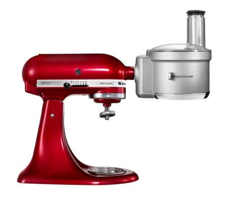 Kitchenaid 5ksm2fpa Food Processor Attachment  Qvc Uk