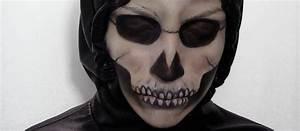 Maquillage D Halloween Pour Fille : maquillage d halloween squelette ~ Melissatoandfro.com Idées de Décoration