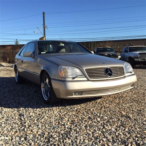 Best car i ever owned. 1995 Mercedes S600 V12 Coupe W140 67K Miles