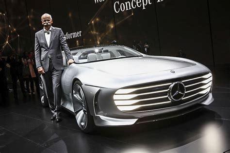 Quatre Modèles électriques Mercedes Attendus D'ici 2020