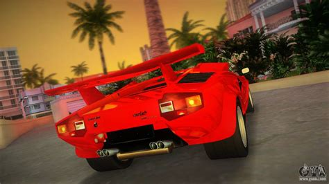 lamborghini countach lp  tt custom  gta vice city