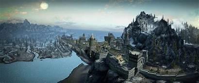 Skyrim Scrolls Elder Games Desktop Px 4k