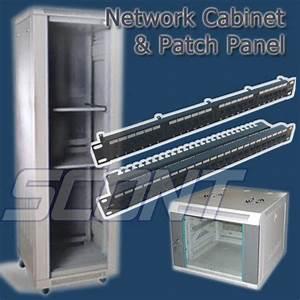 China 19 U0026quot  Network Cabinet  U0026 Patch Panel